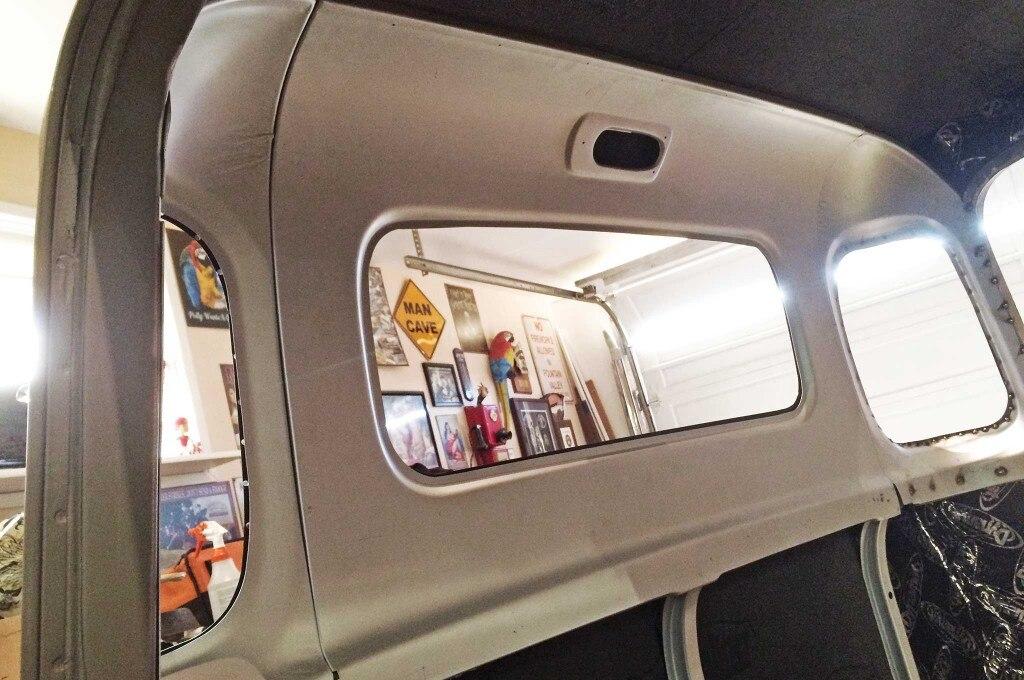'47-'53 Rear Inner Three-Window Panel (PN IRWP533)