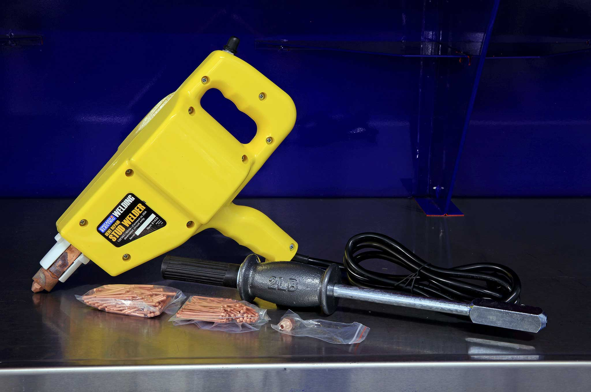Harbor Fright Tools : Budget body shop using harbor freight tools