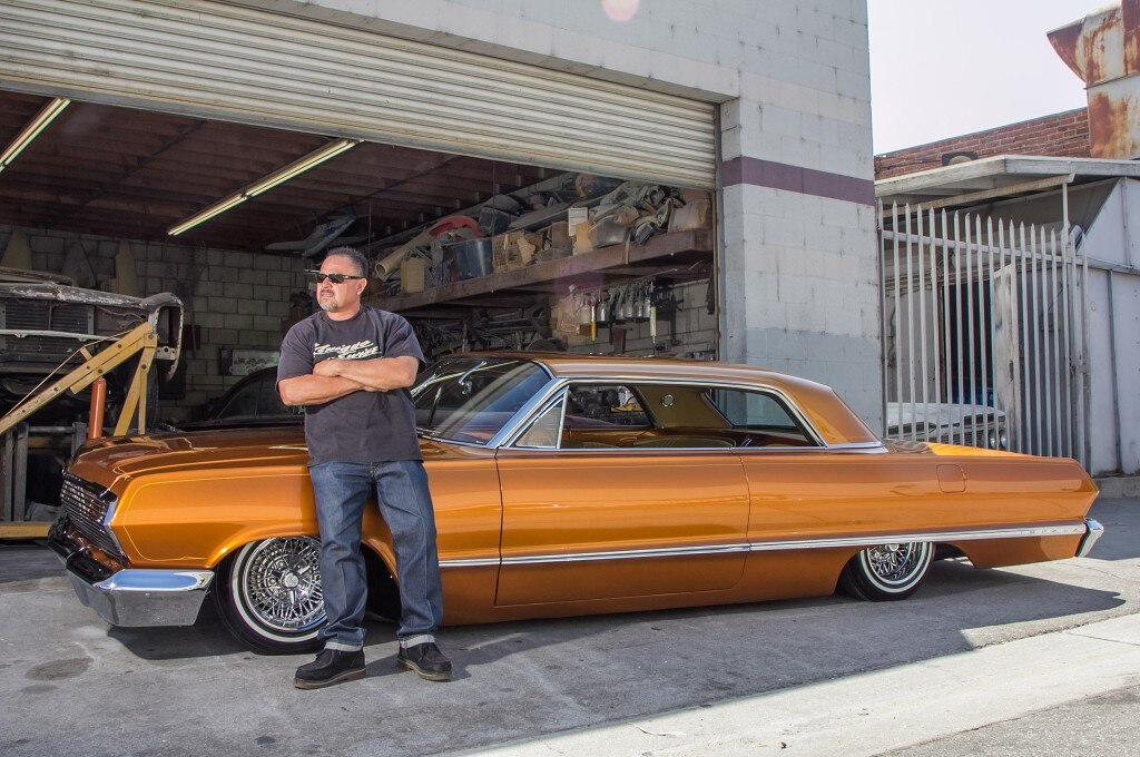 richie valles shop stop locs 1963 kustom