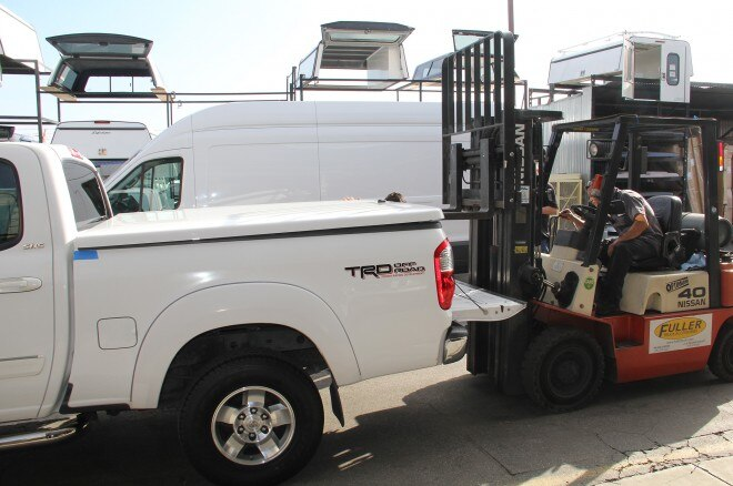 06 fuller truck accessories toyota truck forklift removed