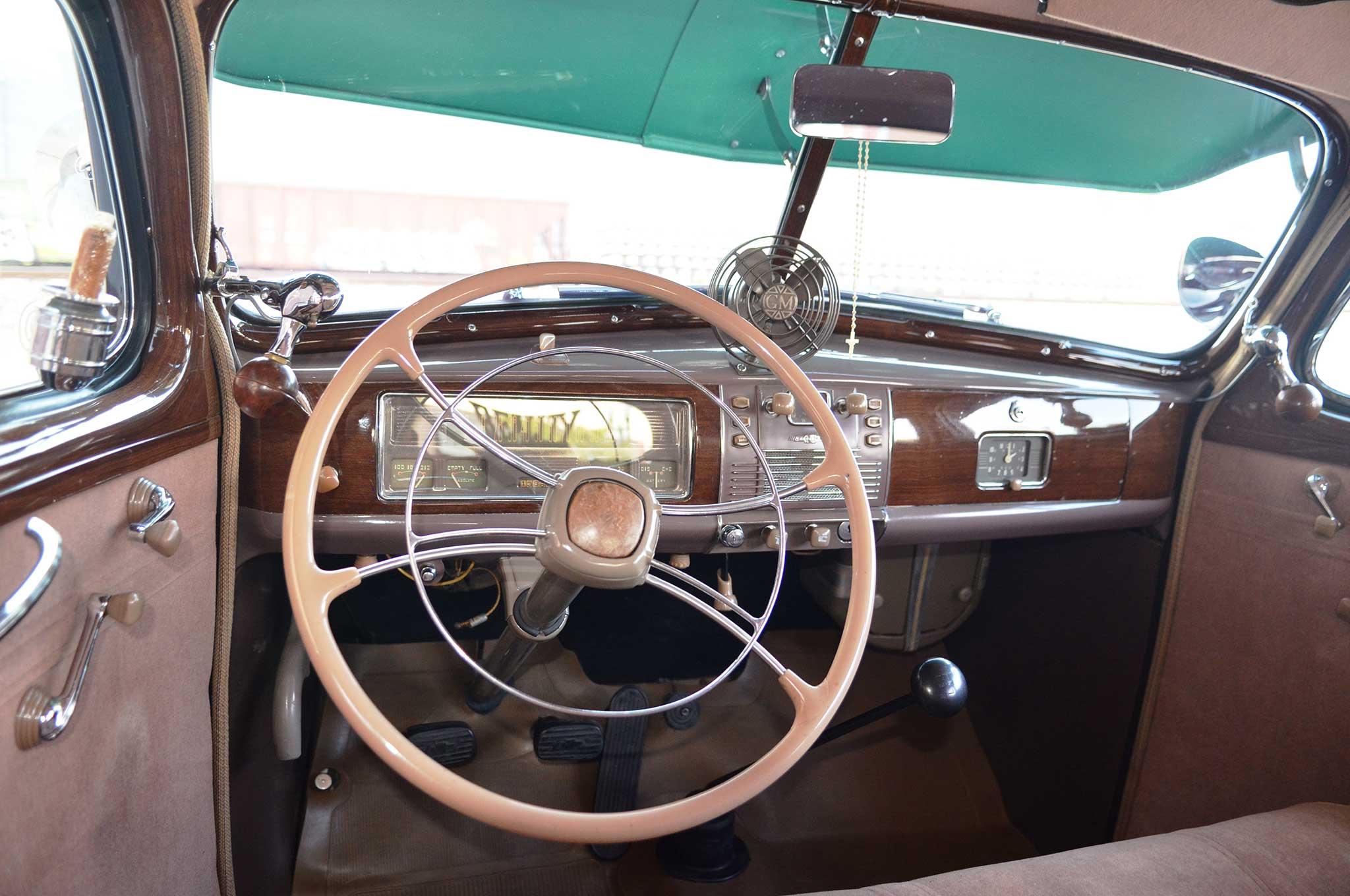 Chevrolet Master Deluxe Banjo Steering Wheel