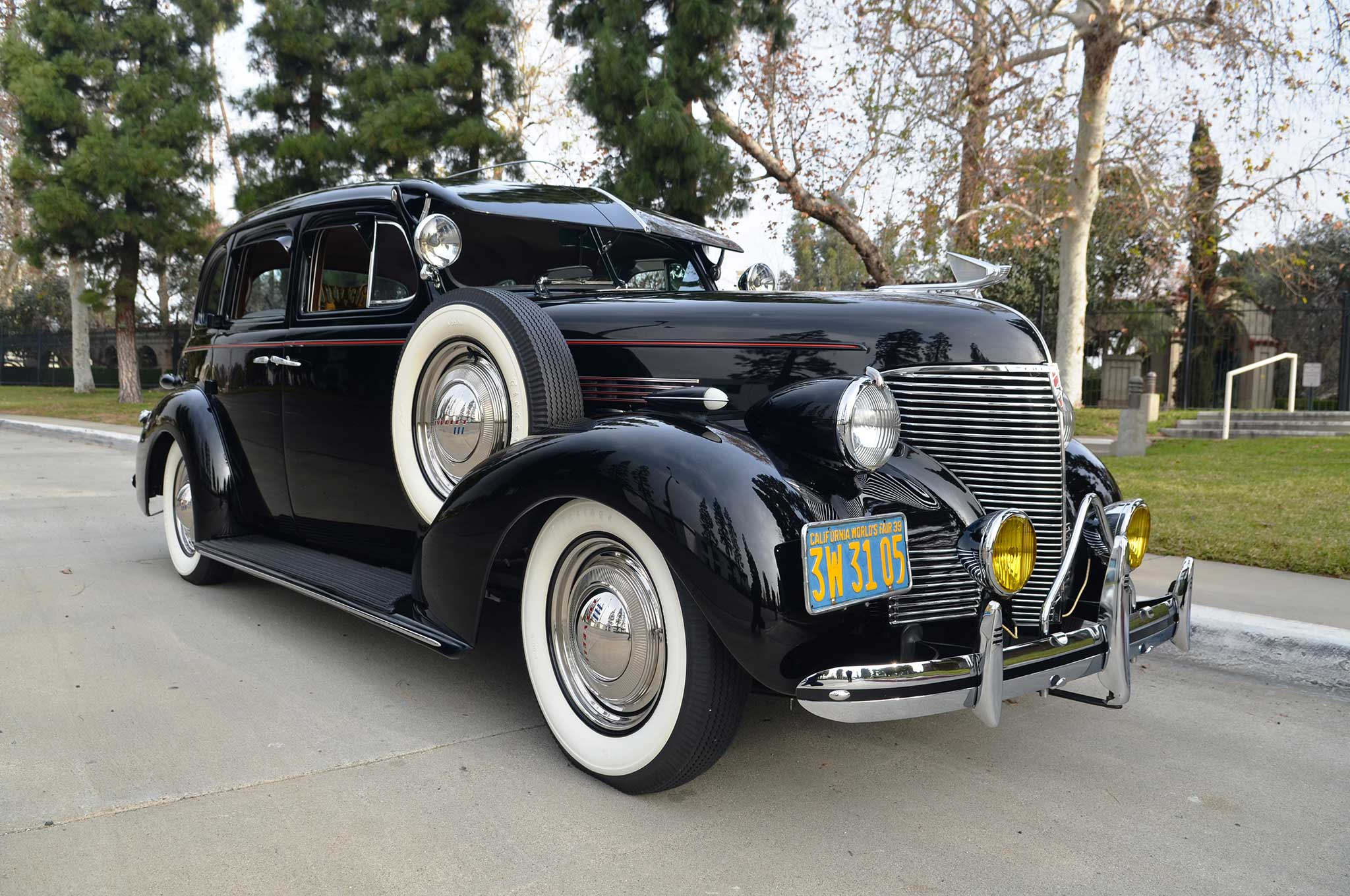 anthony solis' bomb: a 1939 chevy master deluxe