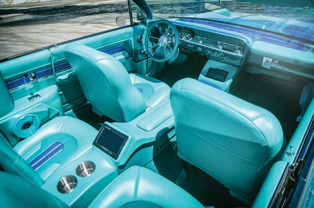 1962 chevrolet impala ss convertible bucket powerseats 003