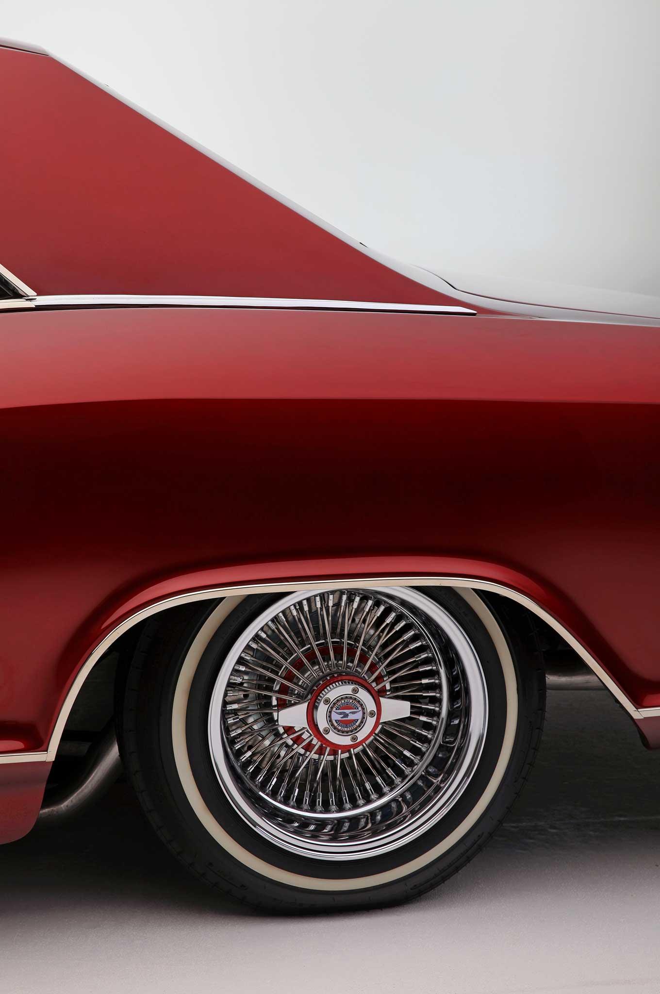 riviera buick wheels 1965 lowrider wire zenith notch custom rims wheel cars clean chrome st