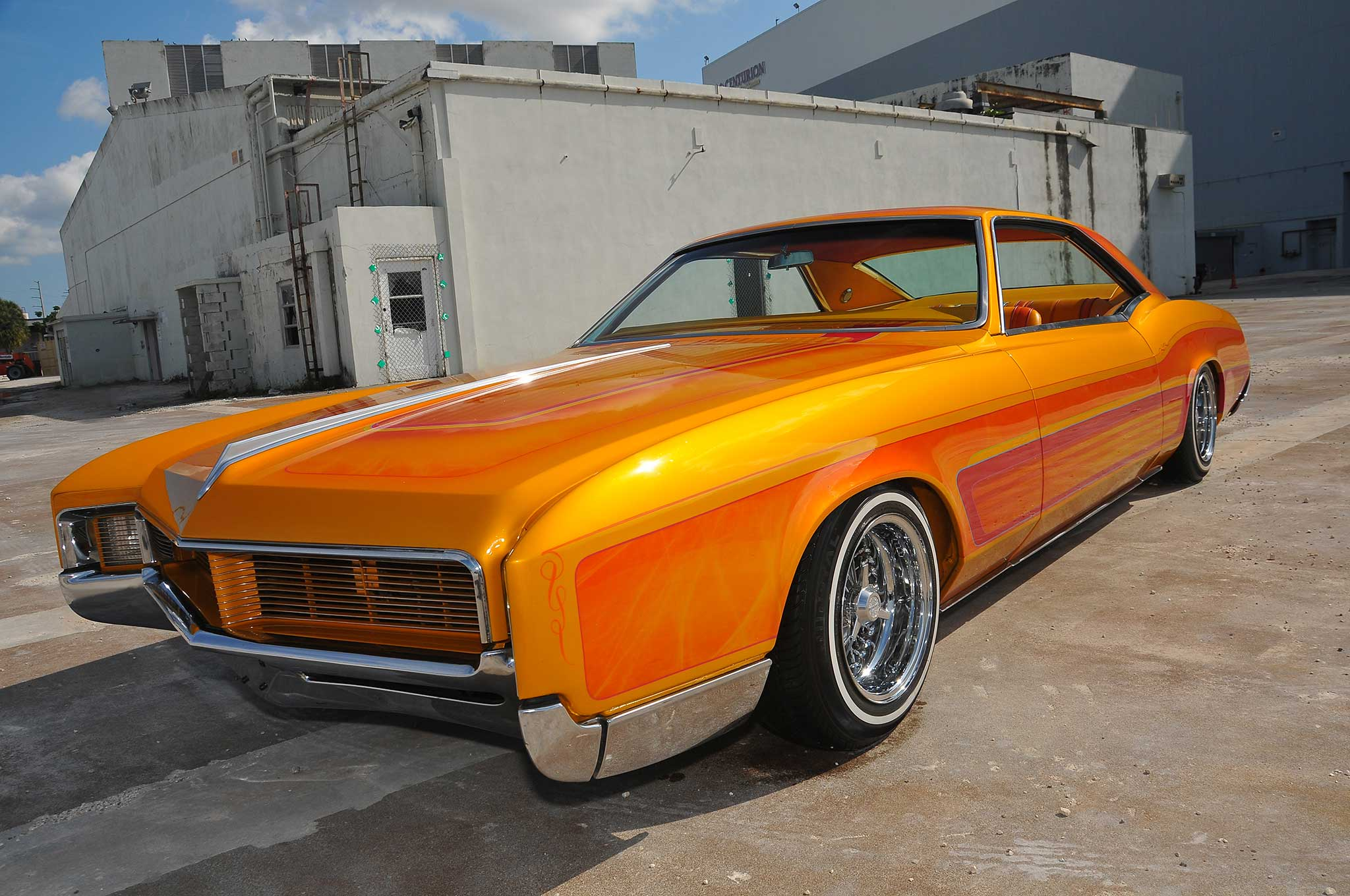 anthony williams 39 passion led him to a 39 66 buick riviera lowrider. Black Bedroom Furniture Sets. Home Design Ideas