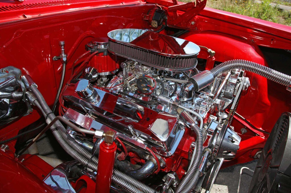 1966 chevrolet impala 350 engine