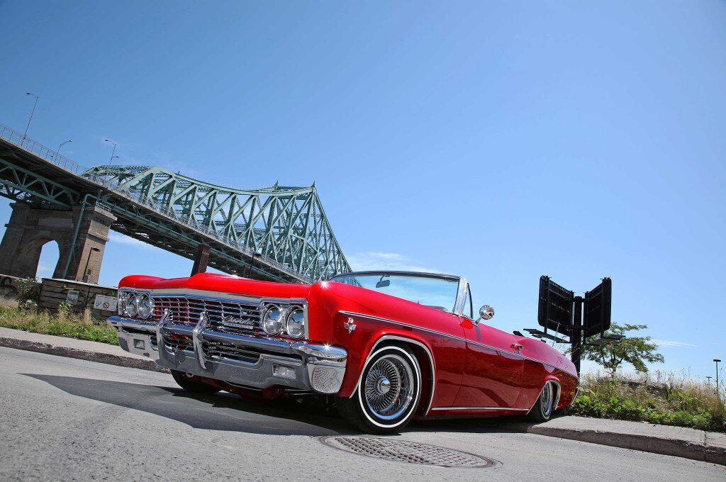 1966 chevrolet impala jacques cartier bridge