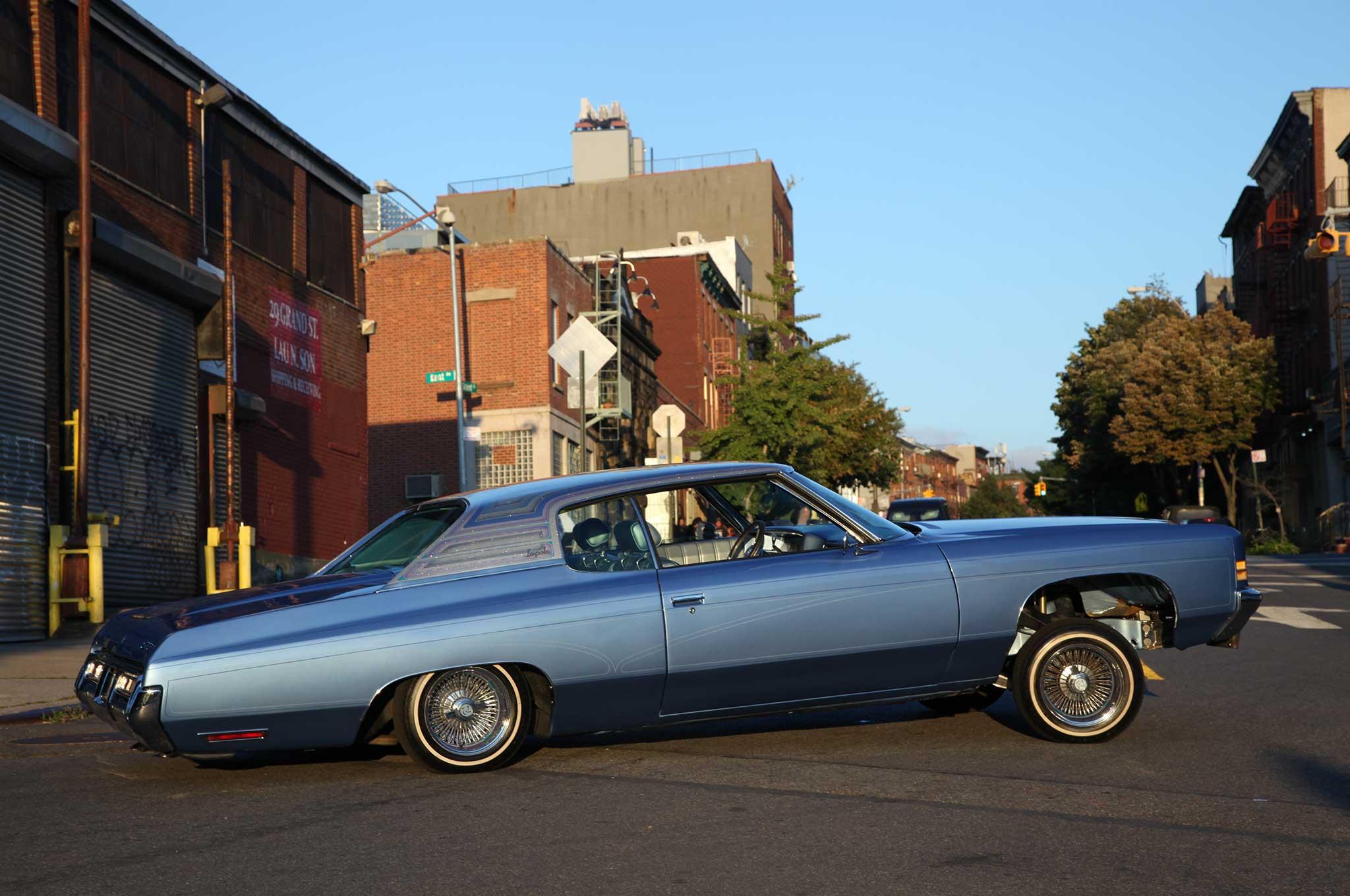 72 Chevy Impala That's LA Built for NY Riding