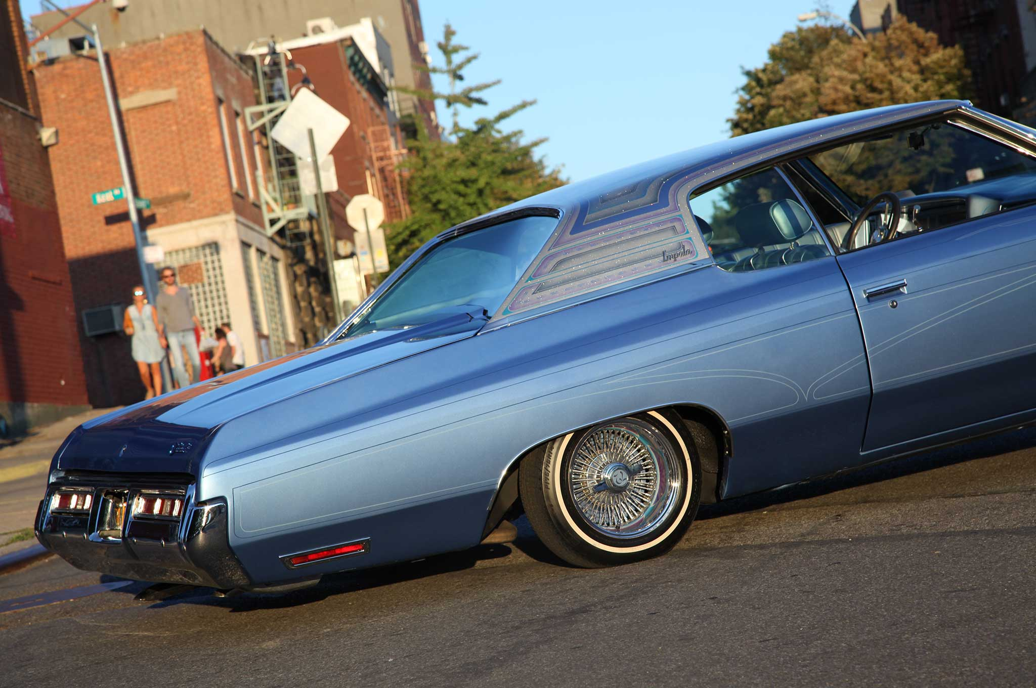 A 72 Chevy Impala That S La Built For Ny Riding