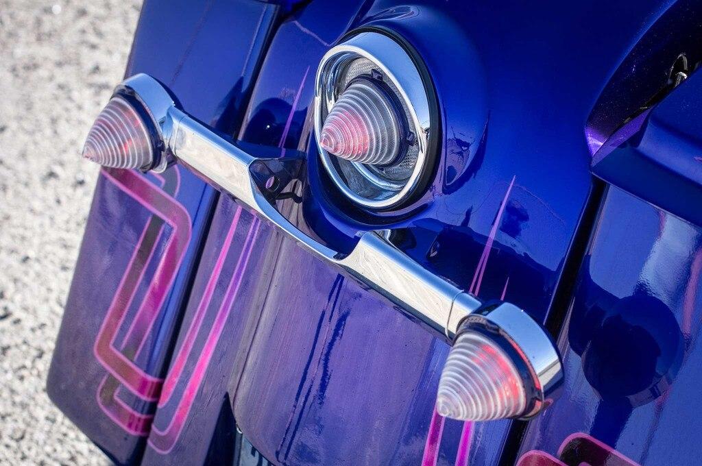 2008 harley davidson road glide clear tail lights impala