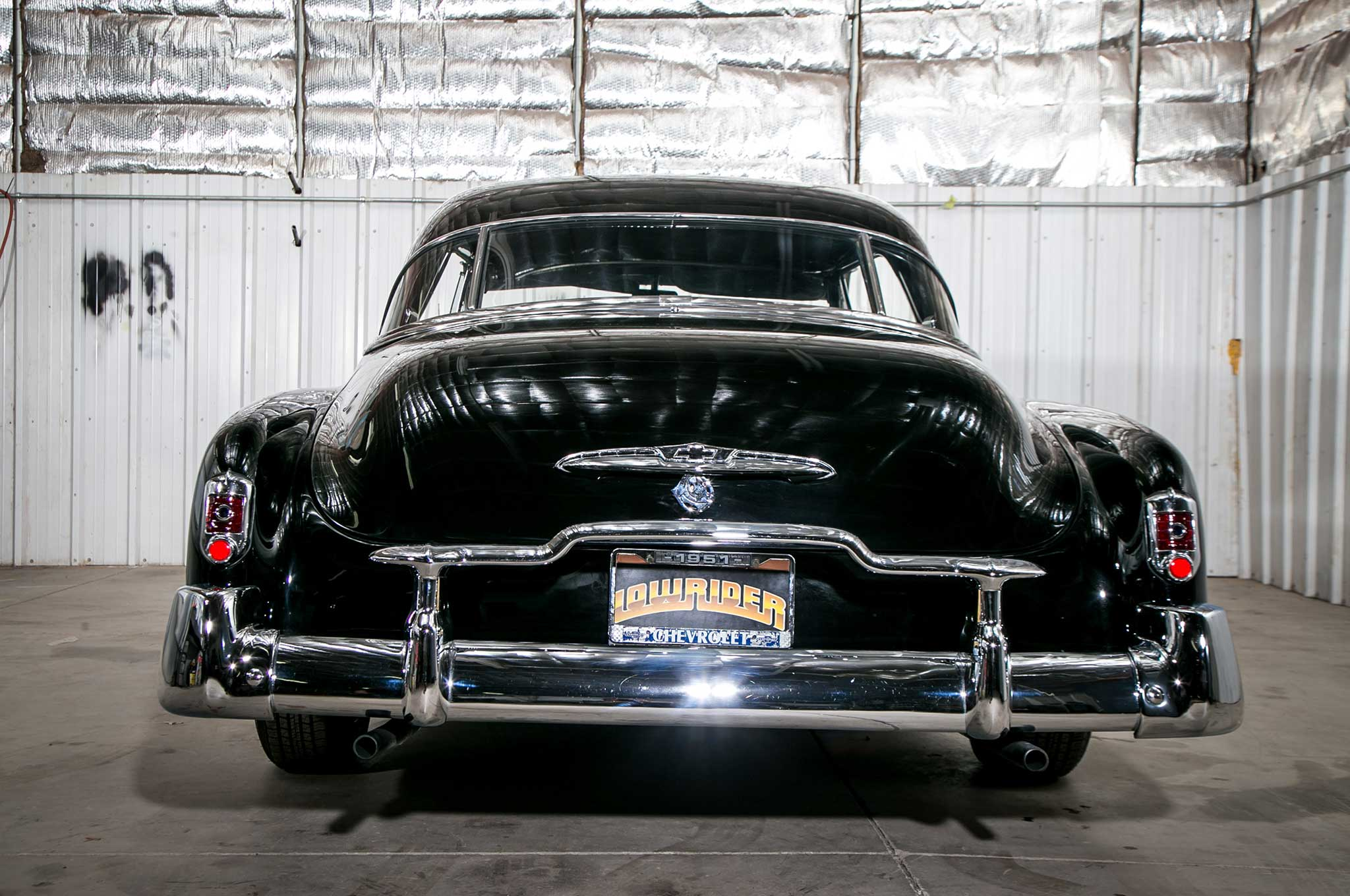 1951 Chevy DeLuxe with a Lowrider Flare
