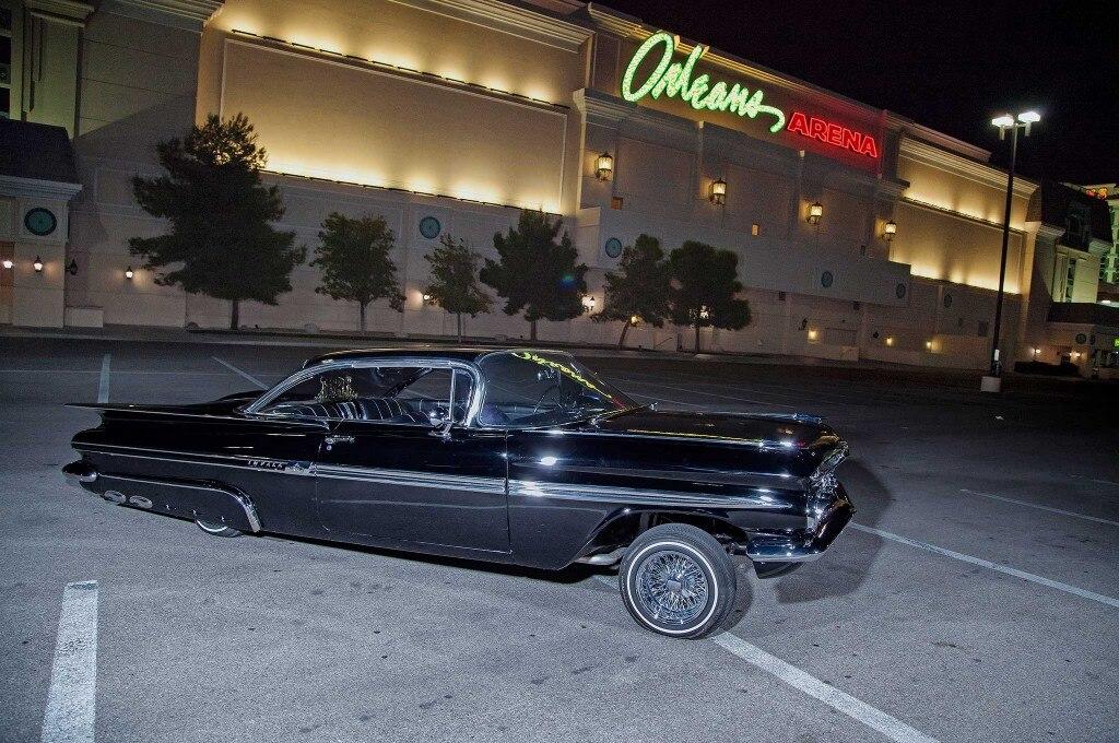 1959 chevrolet impala passenger side view