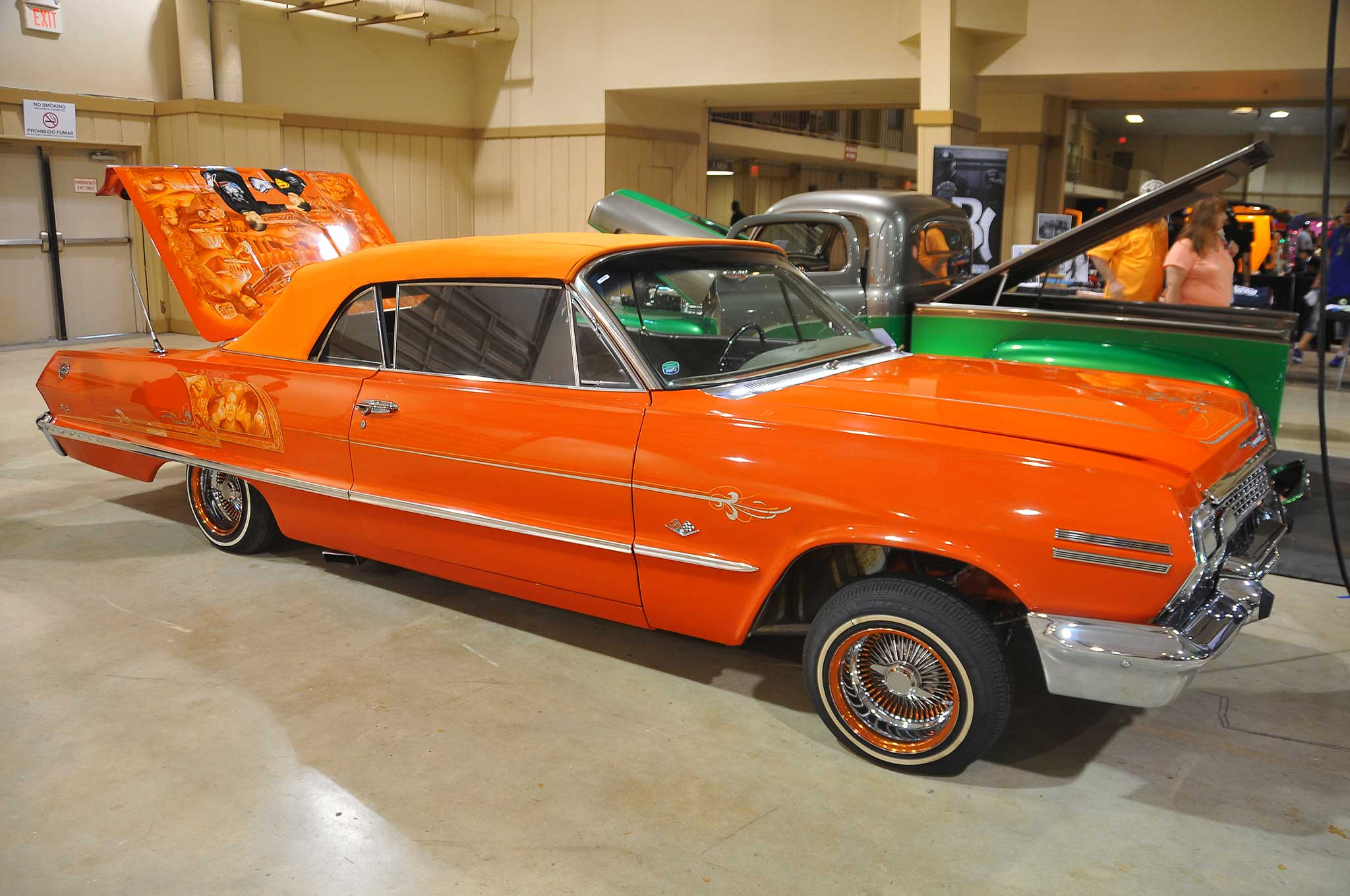 Miami Lowrider Super Show Orange Impala