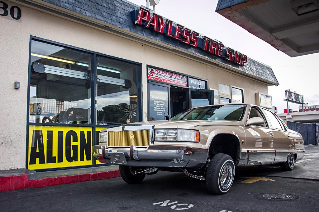 payless tire shop cadillac fleetwood