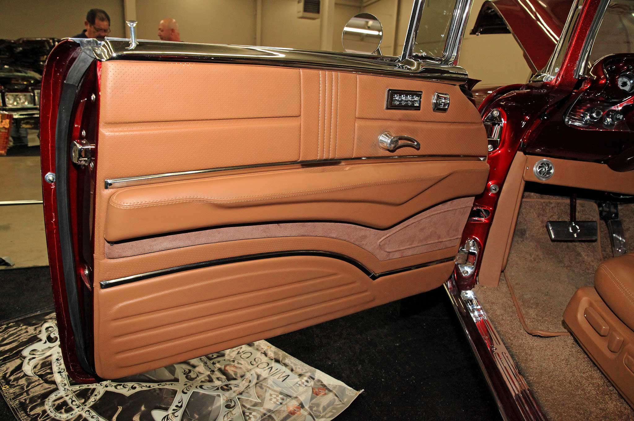 1957 chevrolet bel air door panel lowrider