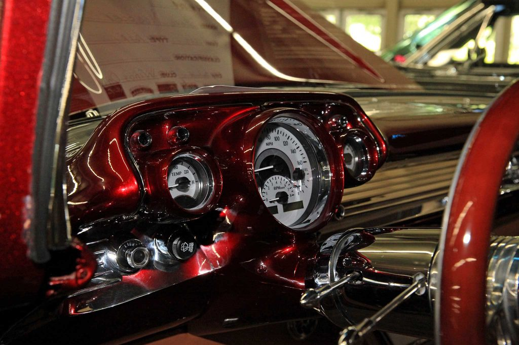 1957 chevrolet bel air gauges
