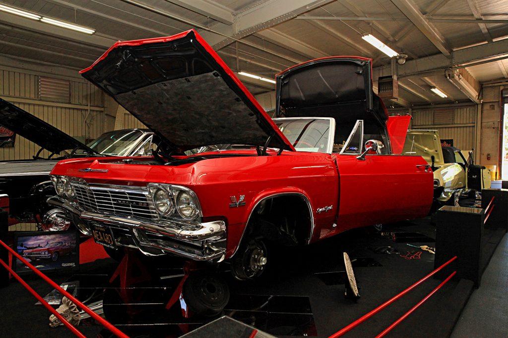 1965 chevrolet impala convertible full display