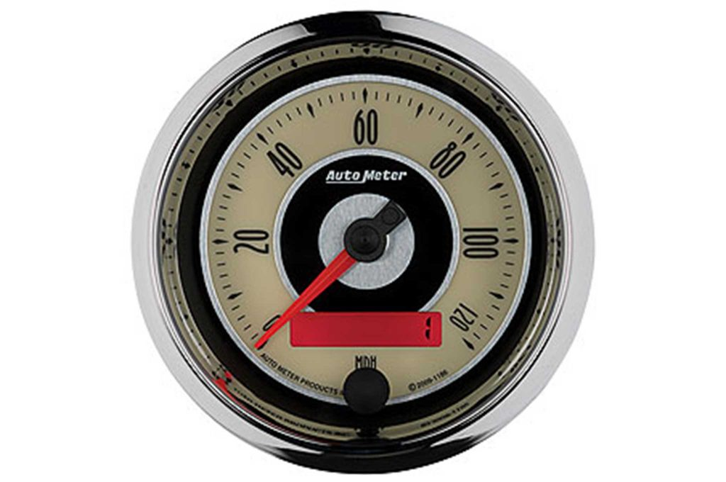 auto meter gauges cruiser ad speedometer gauge
