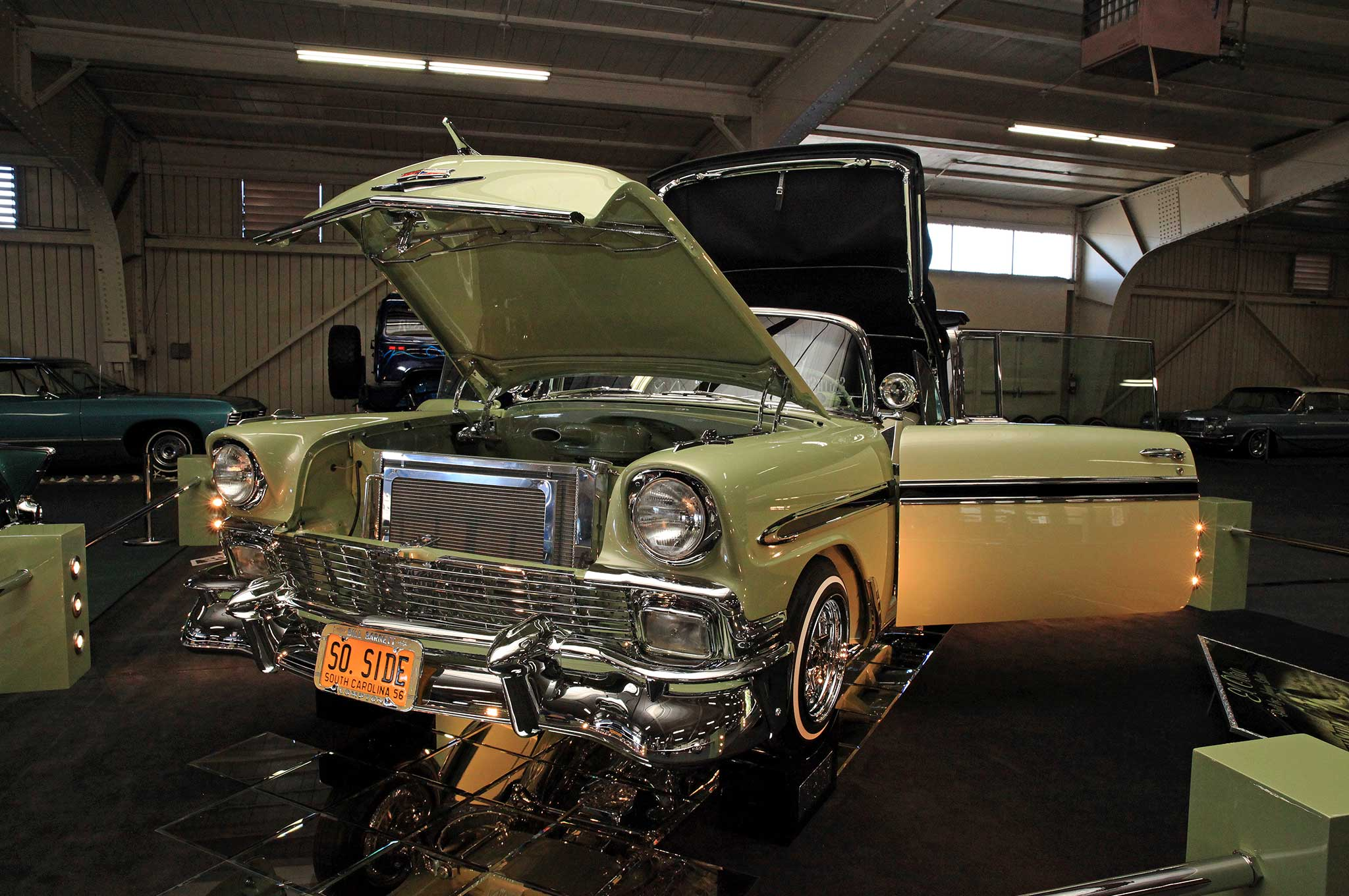 Rear Web likewise Chevy Ls Free Shipping Tremec Speed Wpdb Ps Ac Fuel Injected together with Bet B Beleraiii Black moreover  furthermore Front Web. on 56 chevy bel air build