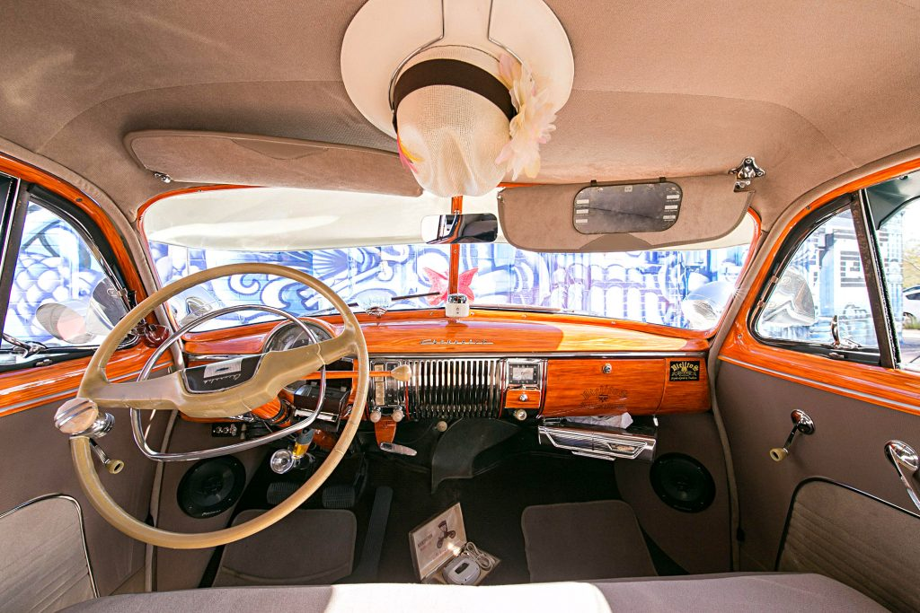 1949 chevrolet fleetline deluxe interior