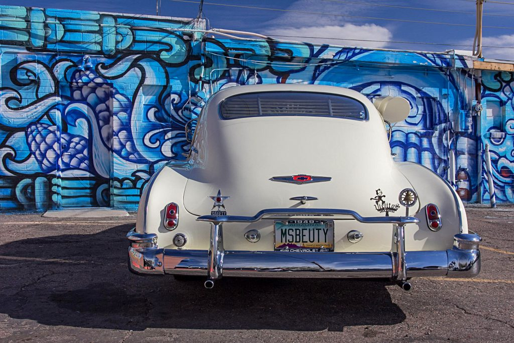 1949 chevrolet fleetline deluxe rear bumper