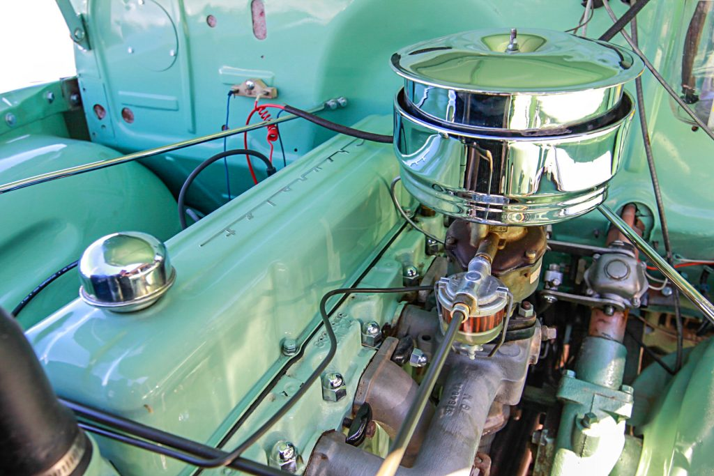 1952 chevrolet 3100 engine
