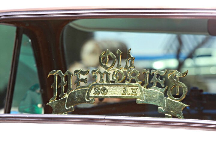 1952 chevrolet 3100 old memories club plaque