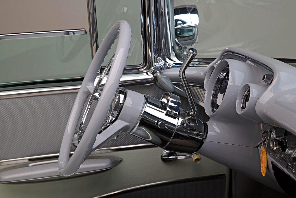1957 chevrolet bel air convertible ididit steering wheel