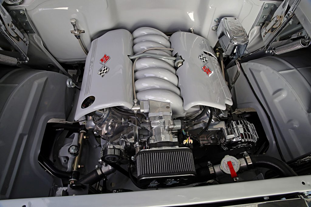 1957 chevrolet bel air convertible ls engine