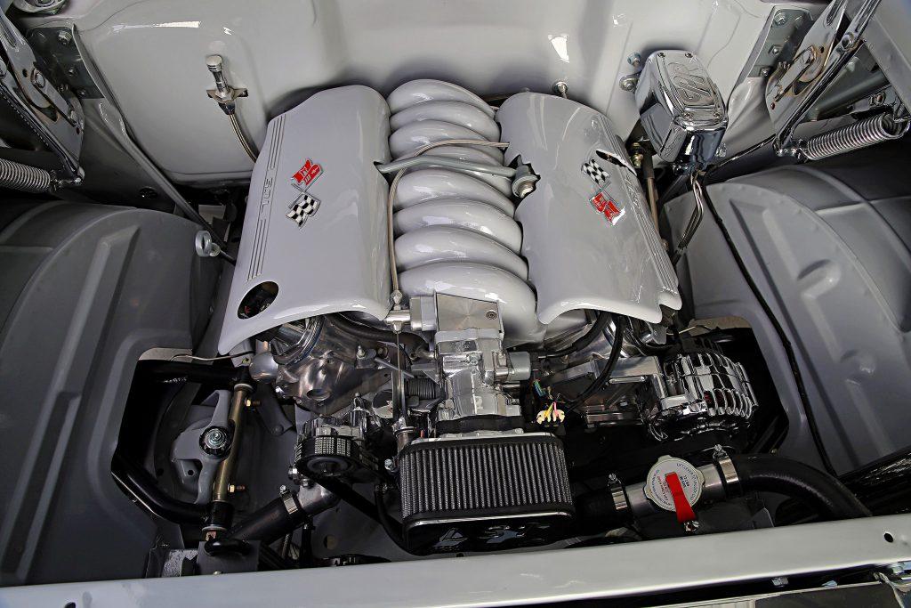 1957 chevrolet bel air convertible ls engine