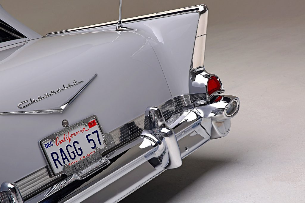 1957 chevrolet bel air convertible rear bumper