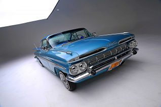 1959 chevrolet impala front top