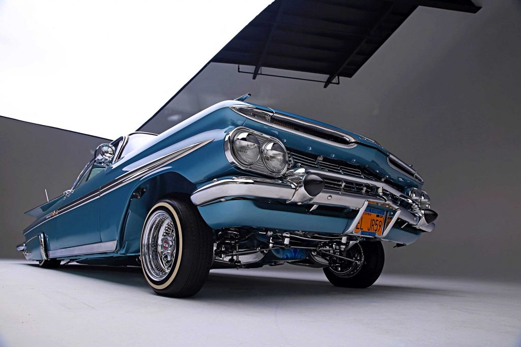 1959 chevrolet impala low shot