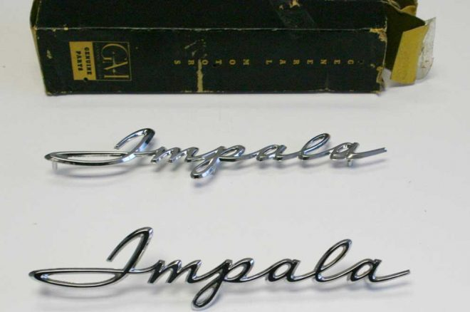 parts to dream nos impala badge