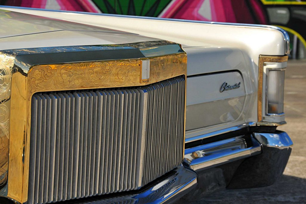 1971 lincoln continental mark iii engraved grill