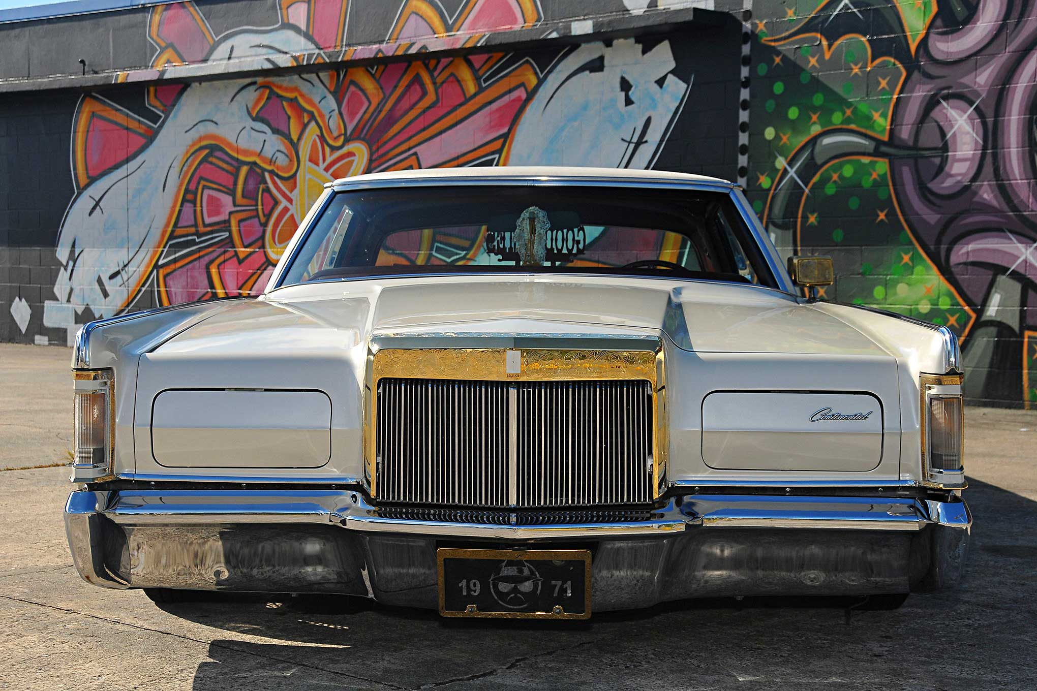 Lincoln Continental Mark Iii Front Bumper on Lincoln Lowrider