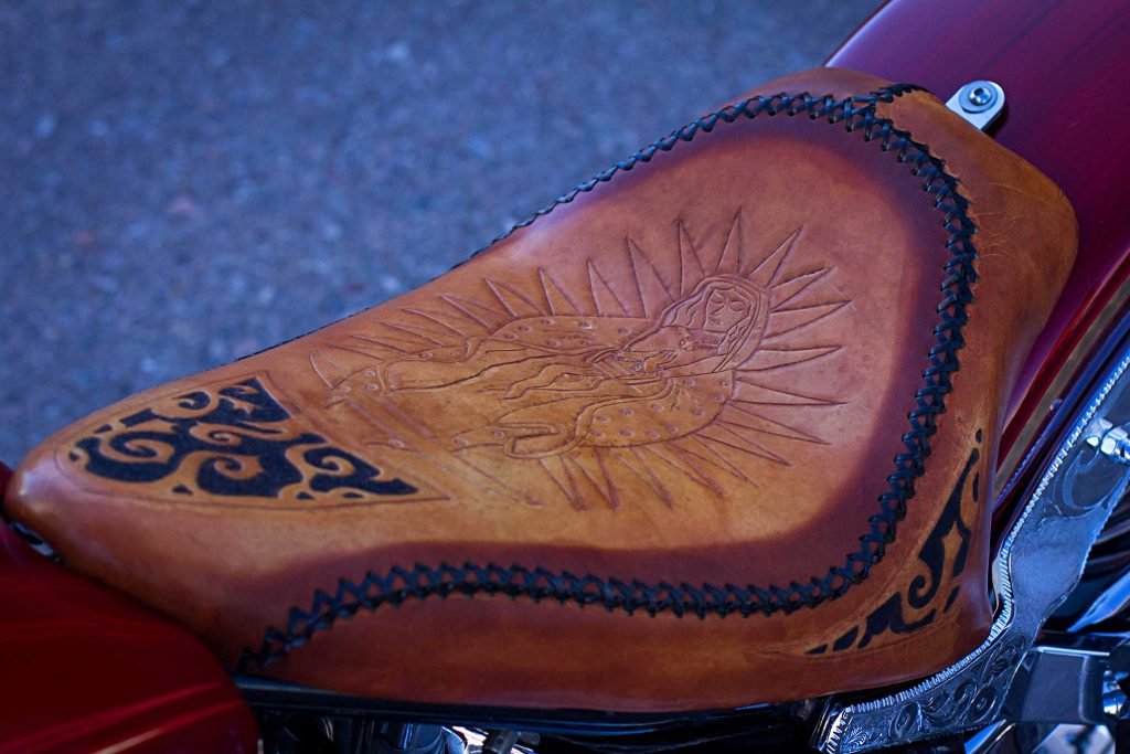 2002 harley davidson softtail custom seat