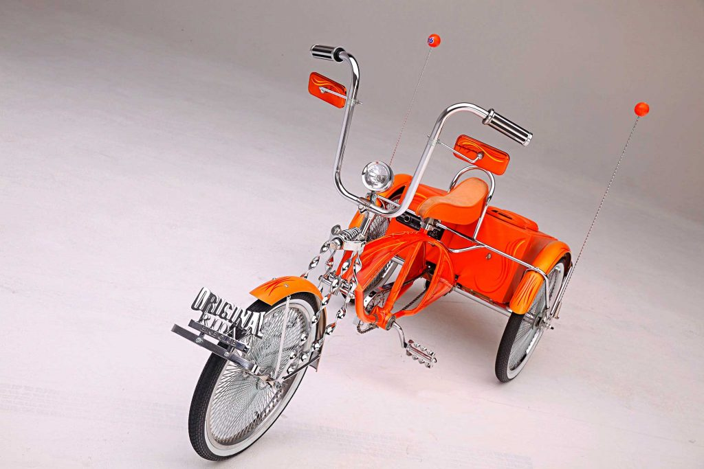 60s schwinn three wheeler tangerine