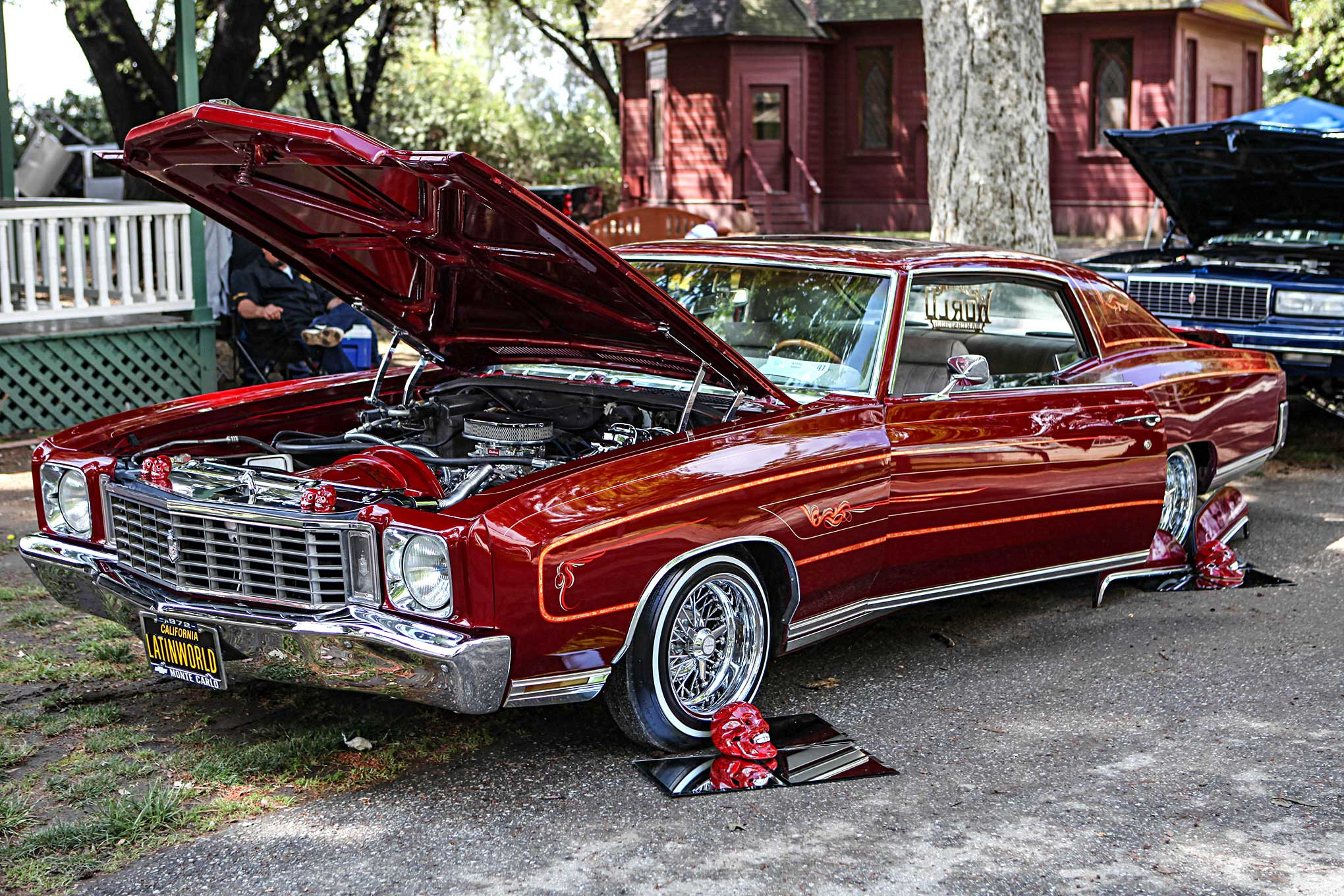 aztec image 6th annual car show monte carlo lowrider
