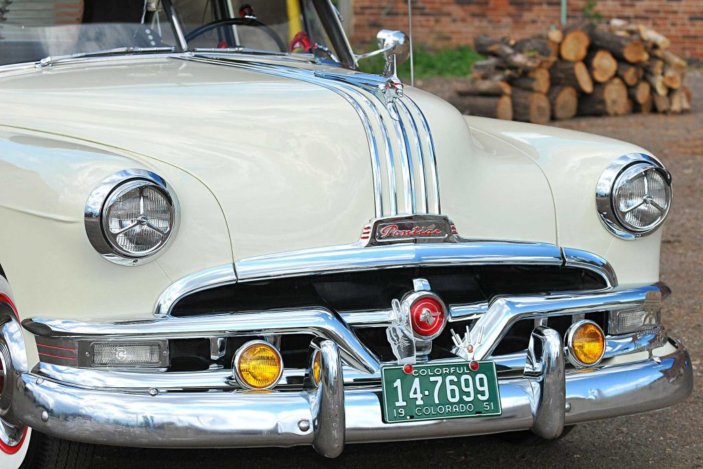 1951 pontiac chieftain front grill