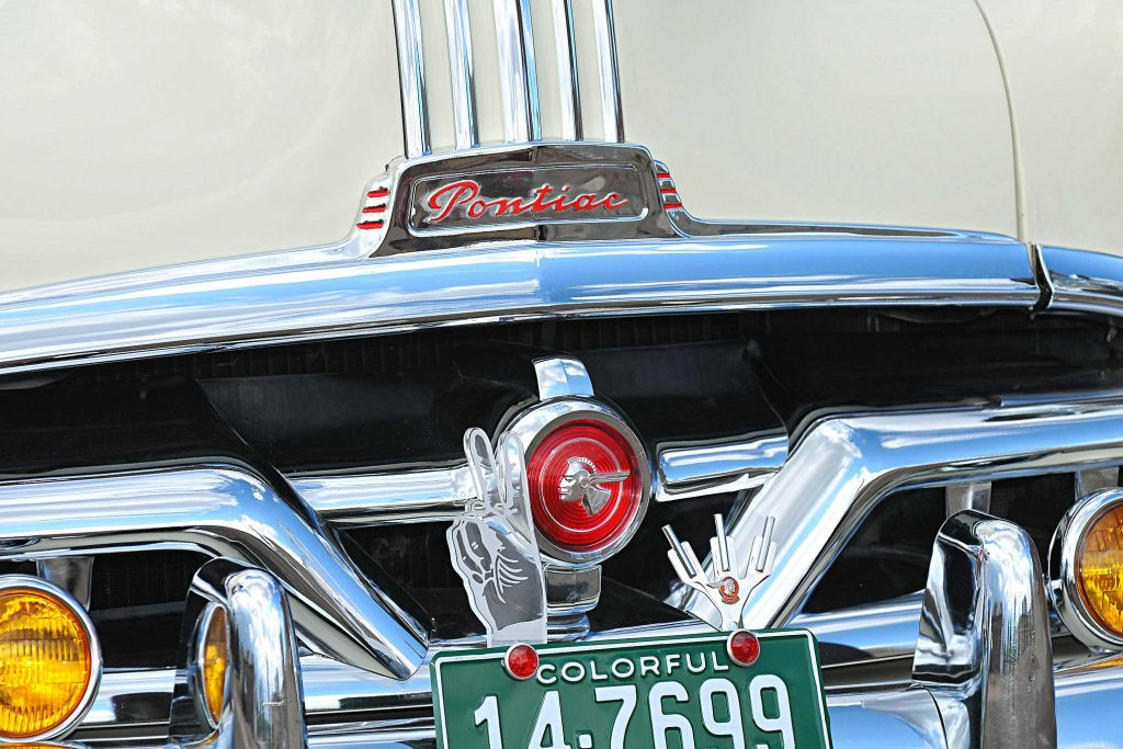 1951 pontiac chieftain grill