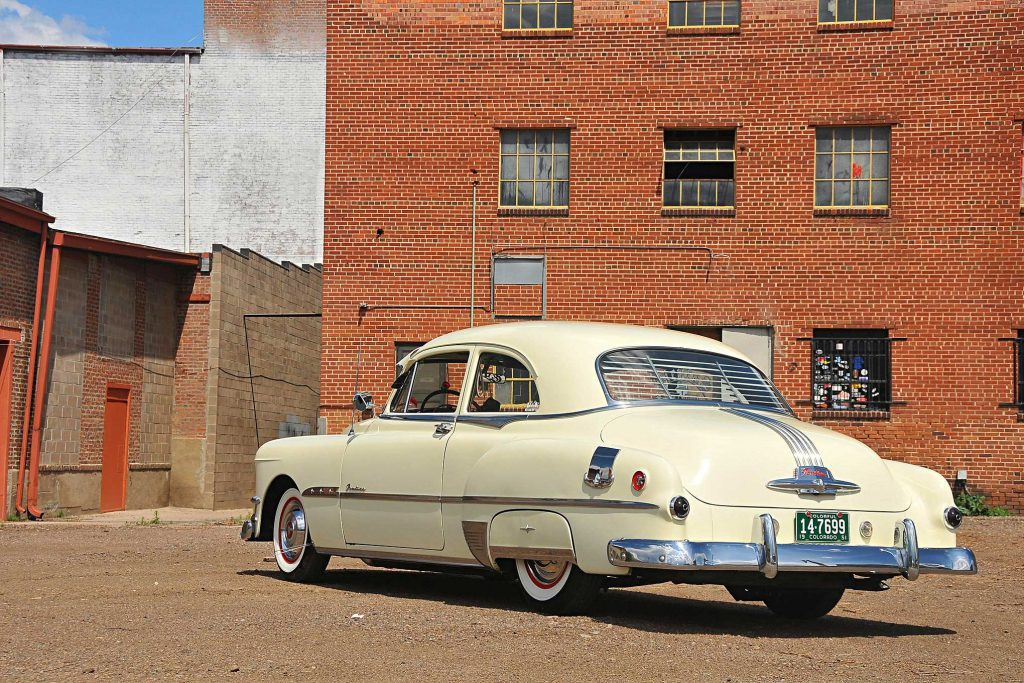 1951 pontiac chieftain rear bumper