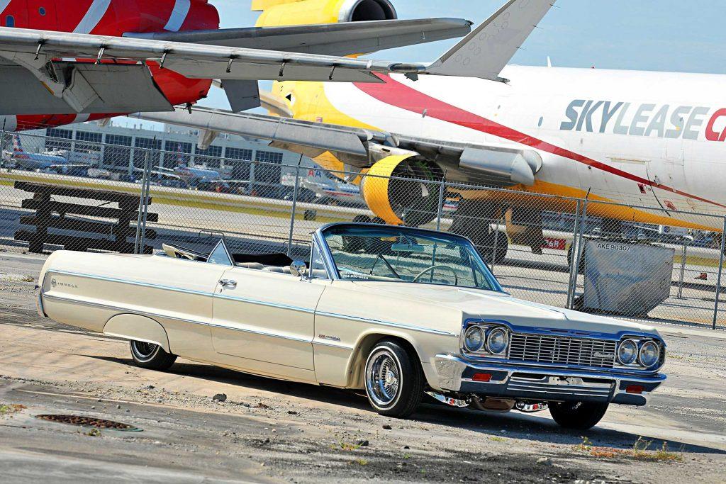 1964 chevrolet impala convertible front bumper