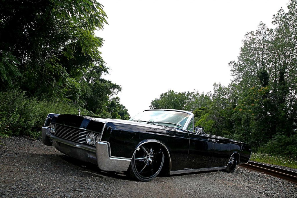 1966 lincoln continental convertible dropped top