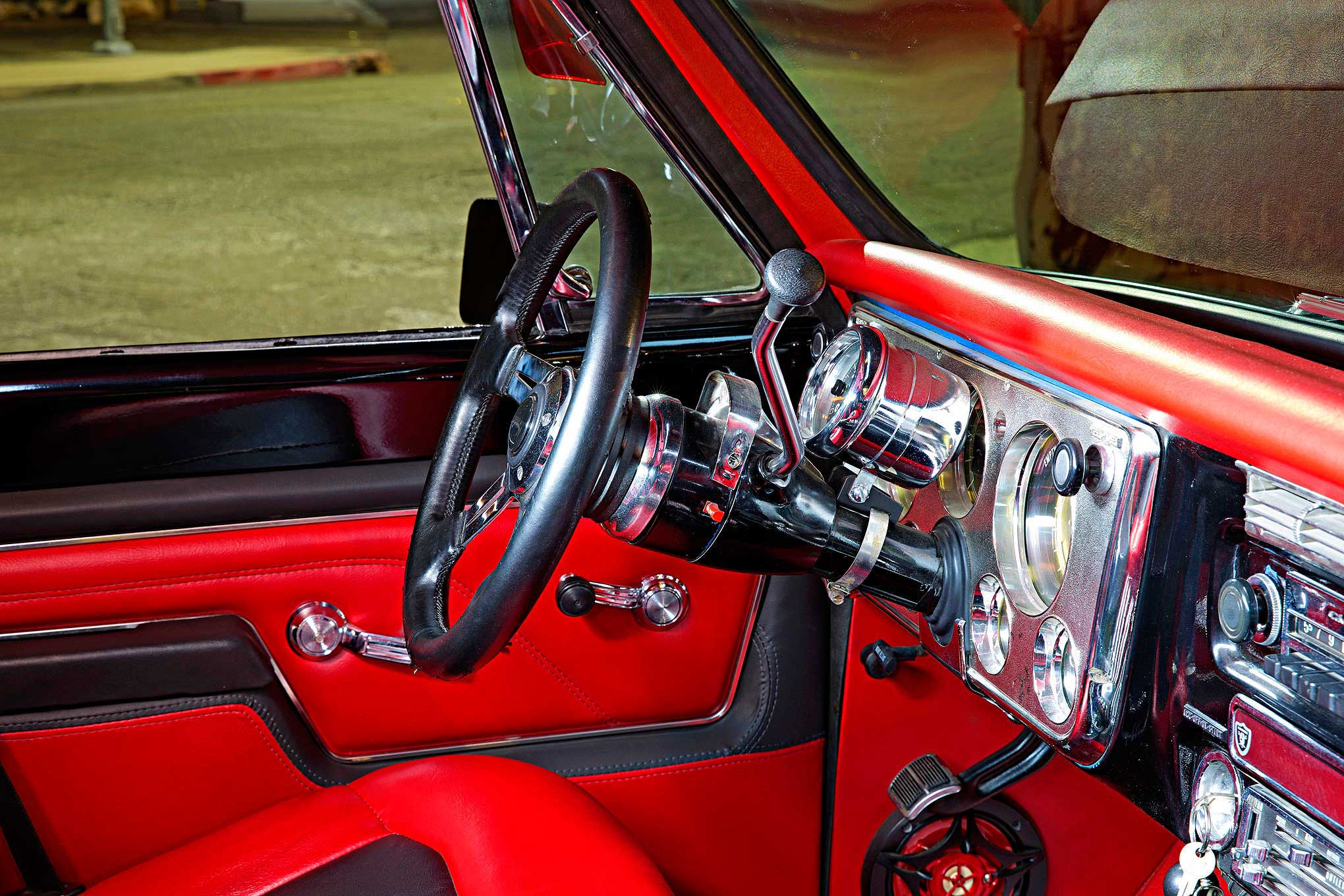 Chevrolet Cheyenne Steering Column