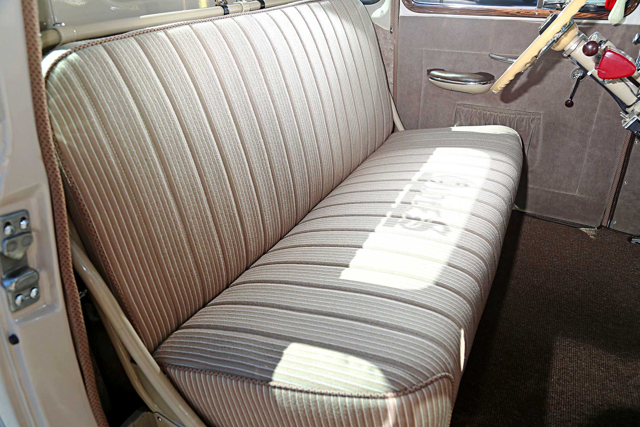 Chevy Bench Seat ~ Mike cajio s chevy time bomb