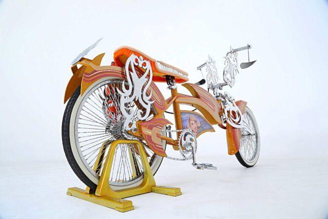 1970 custom schwinn bmx 80 spoke wheel