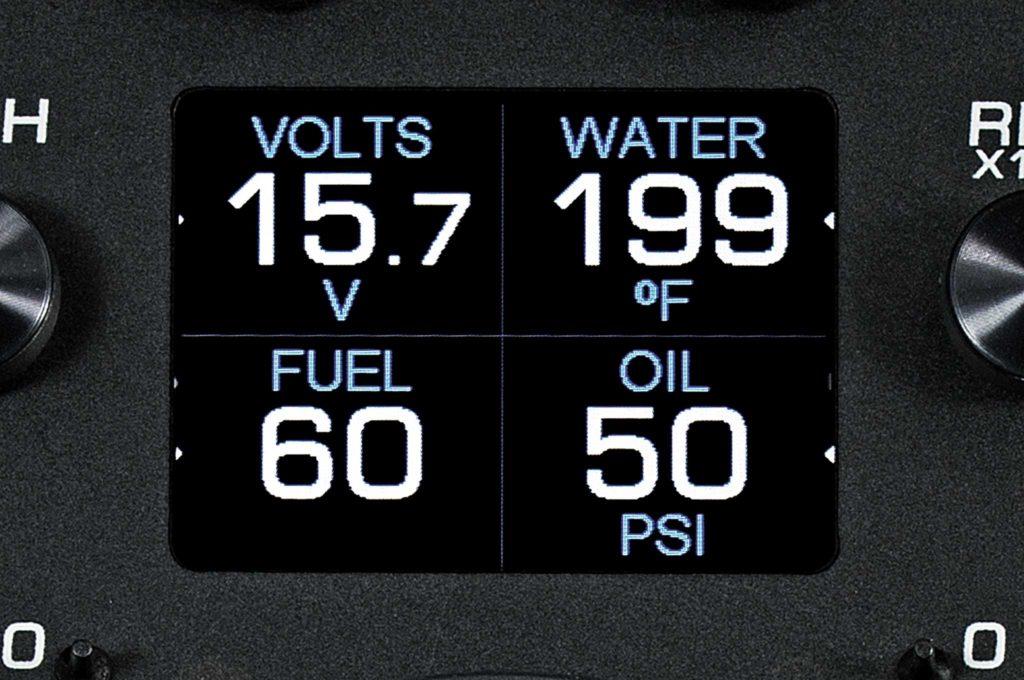 dakota digital hdx system volt water fuel oil gauges