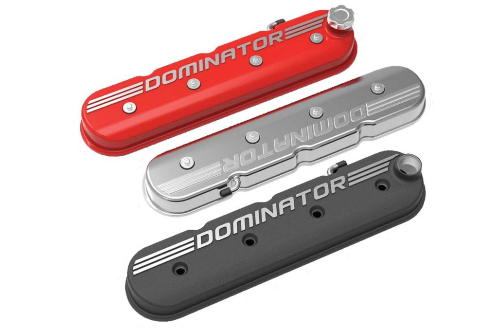 holley air cleanrs and valve covers dominator valve covers