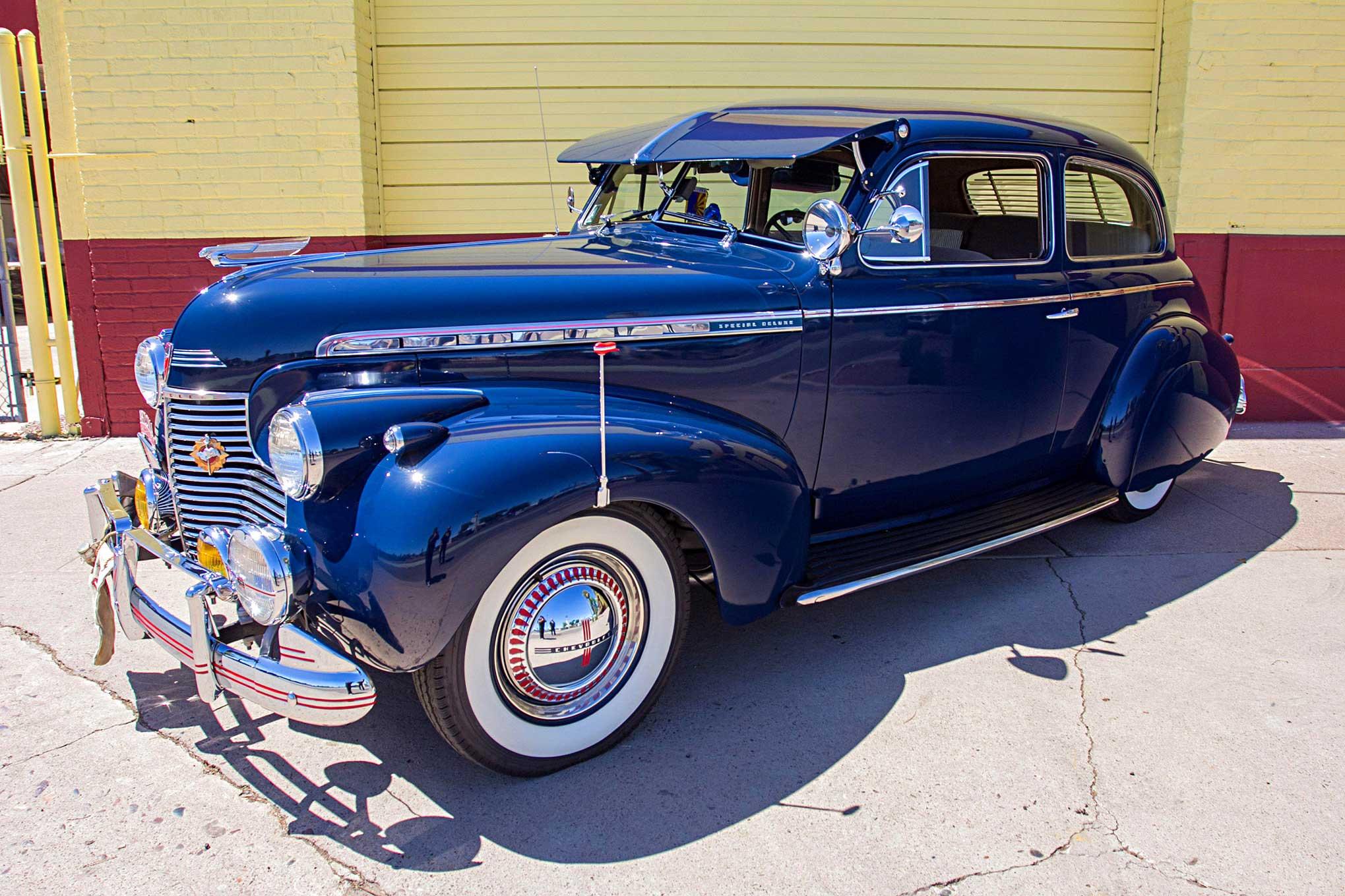 1940 Chevrolet Special Deluxe Breaking Bread